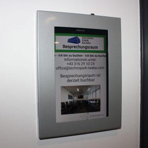 Infocenter.tv - Technopark Raaba Roommanager